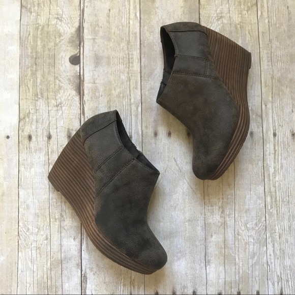 4a11e62ed7b ... Harlow Wedge Booties Size 8. M 5bfaf43603087cb32798a875